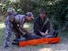 7 Game Glide Deer Sled in use on Hog